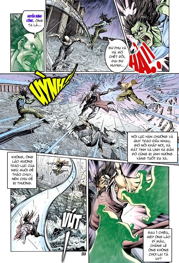 Tân Tác Long Hổ Môn chap 94 - Trang 33