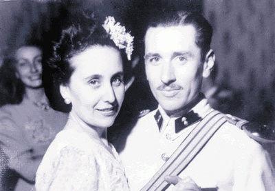 General Carlos Prats y Sofía Cuthbert