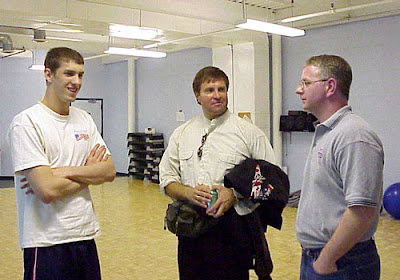 Vladimir Salnikov y Michael Phelps