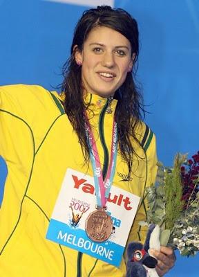 Stephanie Rice en los Campeonatos del Mundo de Melbourne 2007