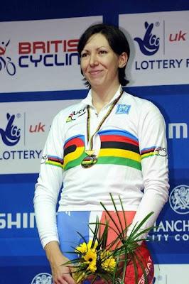 Manchester 2008 - Rebecca Romero, campeona del mundo en persecución individual