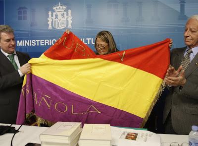 Bandera Republicana de Manuel Azaña