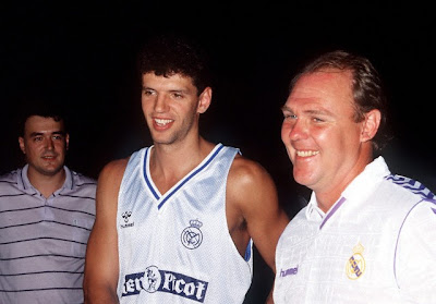 Drazen Petrovic, Real Madrid