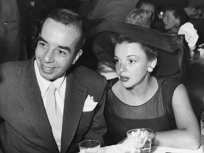 Judy Garland y Vincent Minnelli en 1951