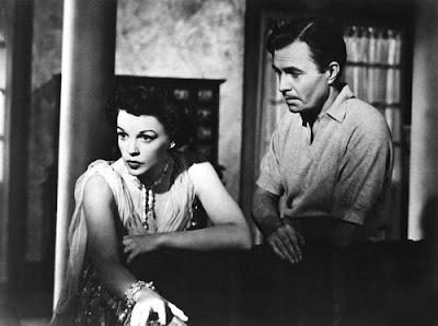 Judy Garland y James Mason en Ha nacido una estrella (1954)