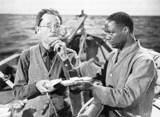 Canada Lee y Henry Hull en Naufragos (1944)