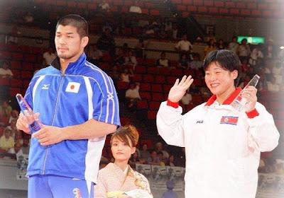Osaka 2003 - Kye Sun-Hui y Kosei Inoue