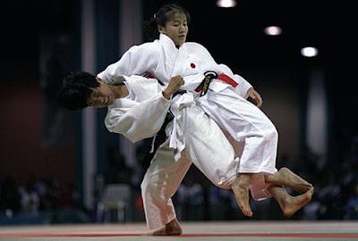 Atlanta 1996 - Combate entre Kye Sun-Hui y Ryoko Tamura