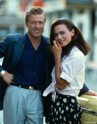Robert Redford y Lena Olin en Havana (1990)