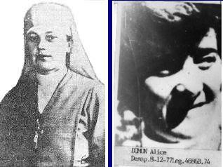 Léonie Duquet y Alice Domon