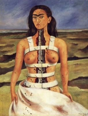 Frida Kahlo - La columna rota (1944)