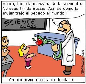 Creacionismo en el aula de clase