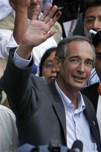 Alvaro Colom, Nicaragua