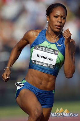Sanya Richards en Indianápolis 2006