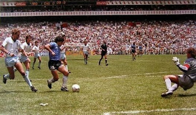 Mundial México '86, Argentina-Inglaterra, Maradona, el gol del siglo