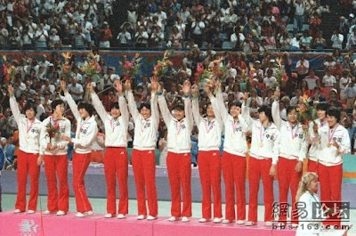 Los Angeles 1984 - China, medalla de oro en voleibol femenino