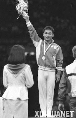 Seúl 1988 - Lou Yun, campeón en salto