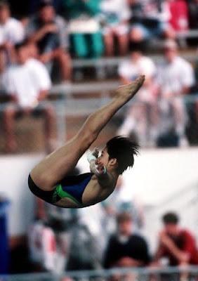 Atlanta 1996 - Fu Mingxia, campeona en saltos de trampolín y plataforma