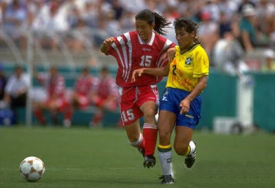 Atlanta 1996 - Fútbol femenino, semifinales entre China y Brasil
