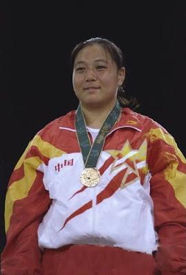 Atlanta 1996 - Sun Fuming, campeona de +72 kg en judo