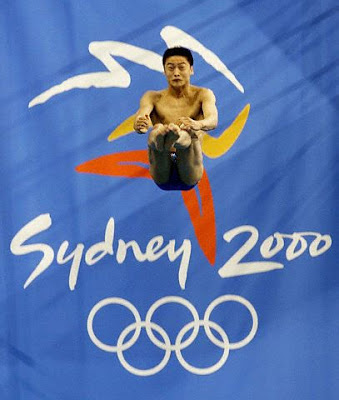 Sydney 2000 - Tian Liang, campeón en saltos de plataforma masculino