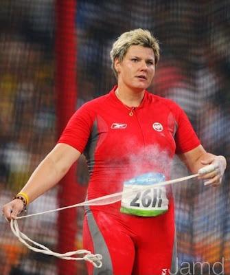 Kamila Skolimowska en los Juegos de Beijing 2008