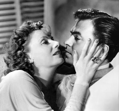 James Mason y Greta Garbo