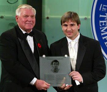 Valeri Kharlamov incluído en el Salón de la Fama del Hockey