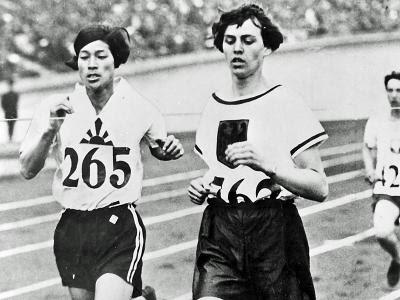 Amsterdam 1928 - Kinue Hitomi y Lina Radke