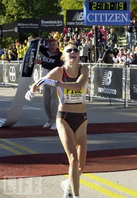 Paula Radcliffe - Chicago 2002