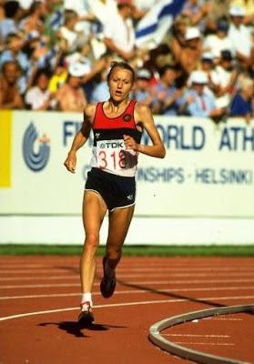 Grete Waitz - Helsinki 1983
