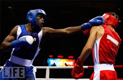 Emilio Correa, plata en boxeo