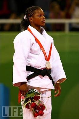 Yanet Bermoy, plata en judo
