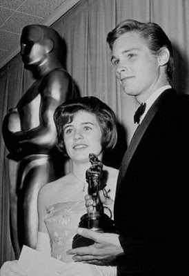 Brandon De Wilde y Patty Duke