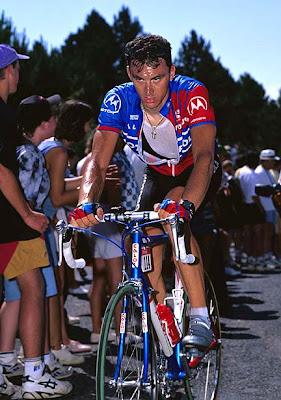 Fabio Casartelli en el Tour de Francia