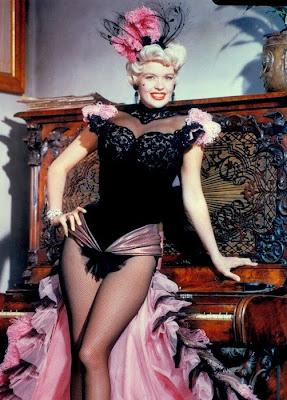 Jayne Mansfield en La rubia y el sheriff (1959)