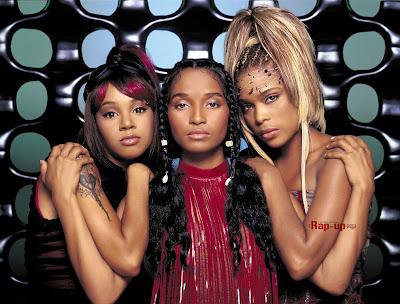 TLC - Lisa Lopes, Chilli Thomas y T-Boz Watkins