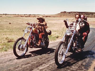 Dennis Hopper y Peter Fonda en Easy Rider (1969)