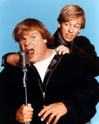 Chris Farley y James Spade
