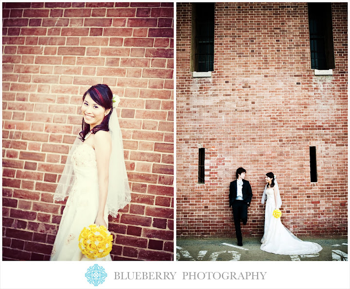 san francisco fort point bridal portraits