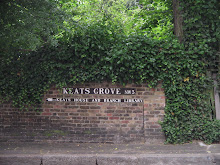 The Entrance to John Keats's neighborhood