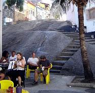 PEDRA DO SAL - MARCO DO SAMBA NO RIO DE JANEIRO .