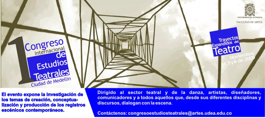 CONGRESO INTERNACIONAL DE ESTUDIOS TEATRALES