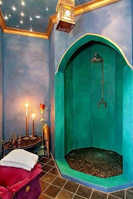 Elixir en el exilio ba o rustico y calido - Decoracion marruecos ...