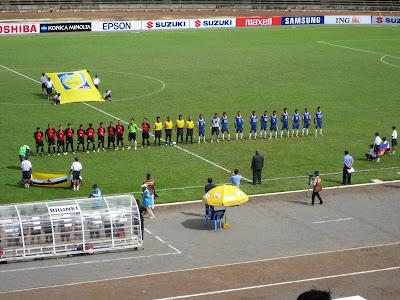 Four Day, Oct. 25, Brunei Vs Cambodia (second uniform is blue)