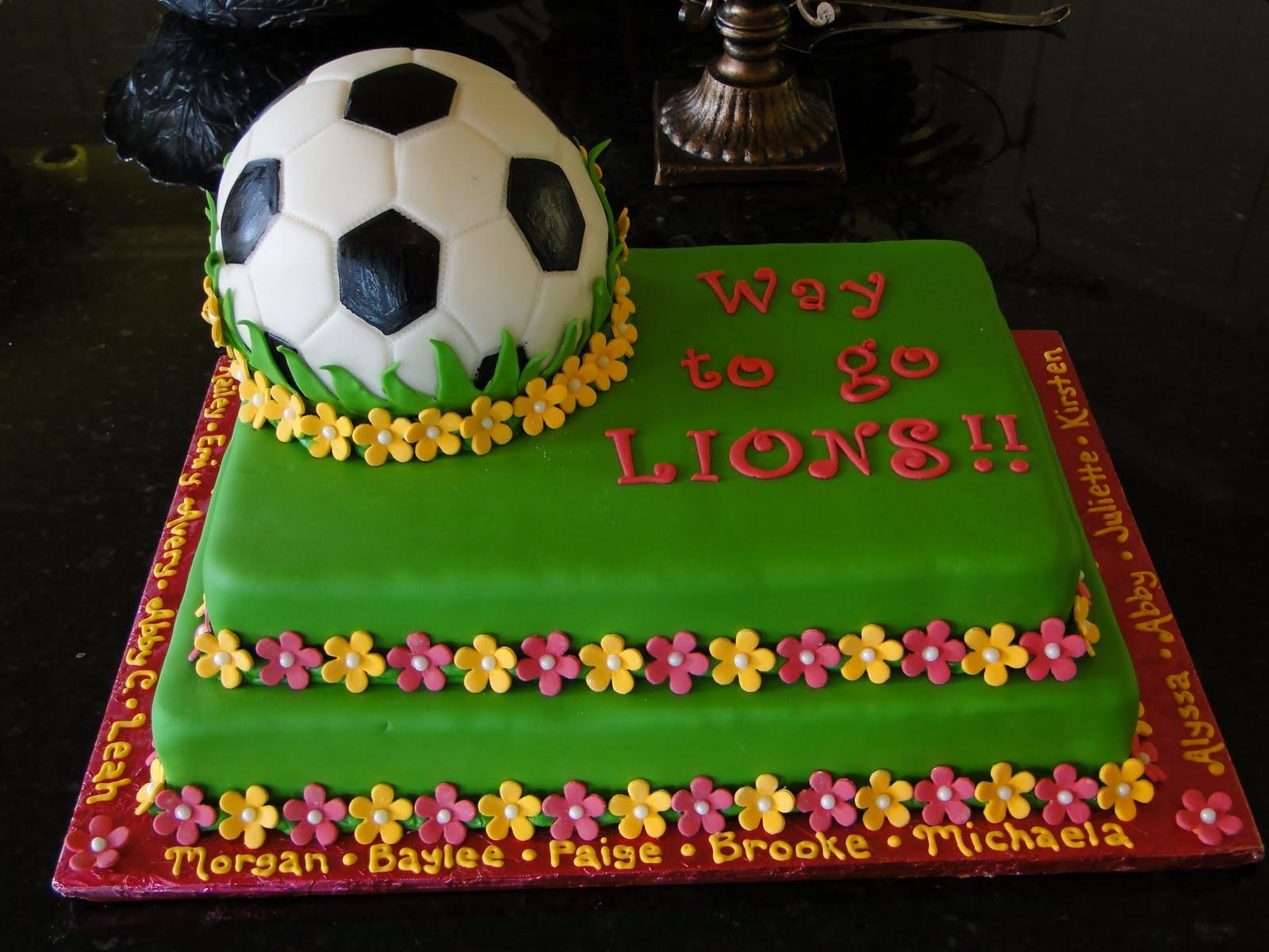 Images Of Soccer Cake : CakeByJess: Soccer Cake