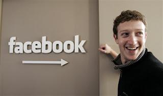 El millonario y joven Zuckerberg, fundador de FaceBook