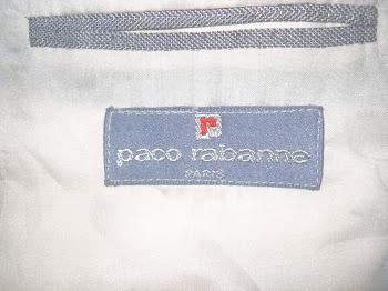 Blazer de verao Paco Rabane, excelente acabamento.