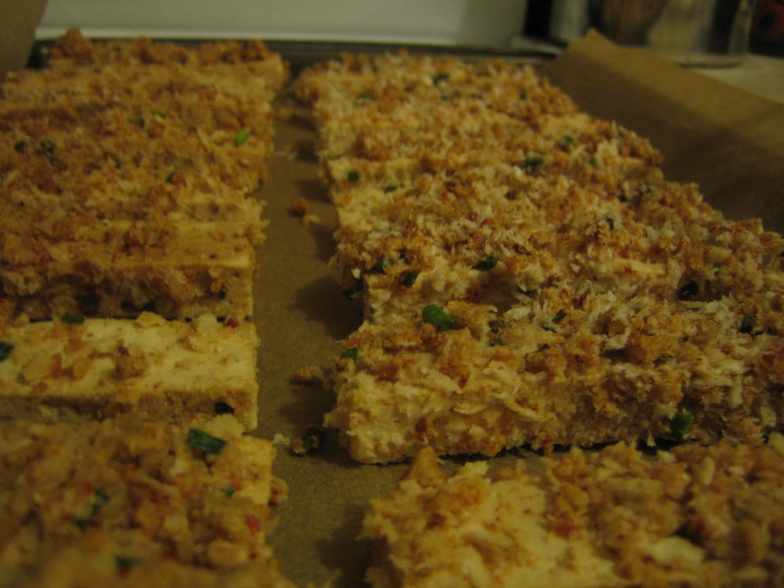 Urban Farmgirl: Baked Tofu Sticks