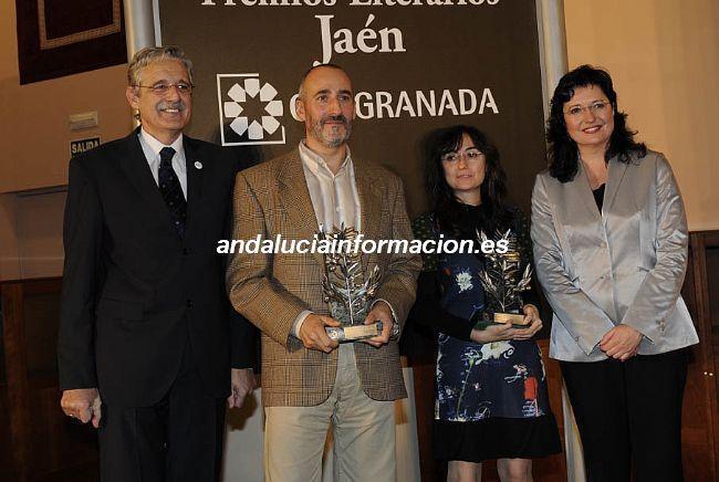 Entrega de los Premios Jaen, noviembre 2009
